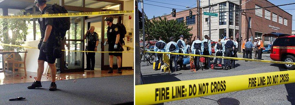 Incidente ocorreu naSeattle Pacific University, no Noroeste dos Estados Unidos; um suspeito foi detido pelas autoridades; casoocorreu menos de duas semanas depois de um jovem, de 22 anos, ter matado seis pessoas no campus de Santa Barbara, na Califórnia, antes de se suicidar