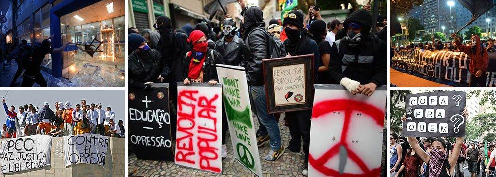 """Que os Black Blocs prometem levar o caos na forma de protestos contra o Estado durante a Copa do Mundo já não é mais novidade; mas, agora, para poder """"tocar o terror"""", eles estão buscando apoio junto ao Primeiro Comando da Capital (PCC), que domina os presídios de São Paulo e comanda o crime organizado de dentro das prisões; segundo os líderes dos Black Blocs, não está em curso a formação de uma aliança, mas uma soma de esforços em comum; o Estado irá tolerar essa parceria?"""