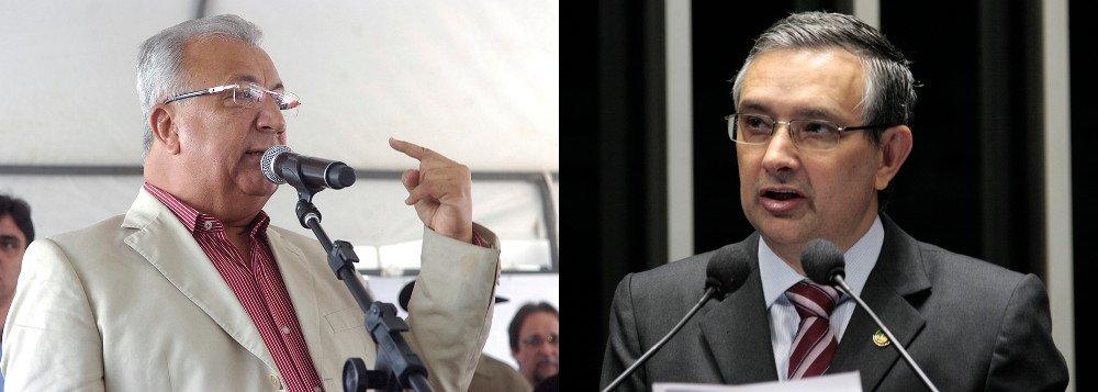 Primeira pesquisa, divulgada pela TV Atalaia, nesta quinta-feira (31), mostra os dois principais candidatos Jackson Barreto (PMDB) e Eduardo Amorim (PSC) tecnicamente empatados: 36% a 34%, com vantagem numérica para o atual governador; para o Senado, a senadora Maria do Carmo (DEM) aparece com 53%, enquanto Rogério Carvalho (PT) soma 10%; para presidente da República, Dilma Rousseff (PT) é a preferida do eleitorado, com 51%