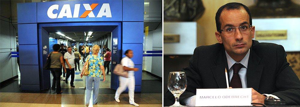 Fundo de investimentos do FGTS (Fundo de Garantia do Tempo de Serviço), o FI-FGTS, quer aplicar R$ 7 bilhões em novos projetos, principalmente em empresas de construção, como Queiroz Galvão; grupo de Andrade Gutierrez e Camargo Corrêa; e Invepar, controlada pela OAS; gestores da Caixa avaliam que a concentração de investimentos na construtora de Marcelo Odebrecht ficou alta demais