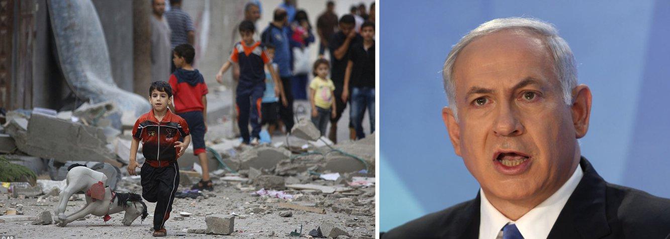 """O jornalista Breno Altman, que é judeu, aponta três argumentos contra a tese de que Israel apenas reage, de forma legítima, ao terrorismo do Hamas; o primeiro:""""desde 1967, quando tomou a força territórios árabes, Israel é o Estado agressor e os palestinos, desde então, possuem direito natural à auto-defesa e à rebelião""""; o segundo: ao usar como pretexto a morte de três adolescentes israelenses, Netanyahu não tratou o episódio como um caso policial, mas como tema militar; terceiro: nunca existiu autodefesa que justificasse mortes de mulheres, crianças e ataques a edifícios das Nações Unidas; """"o nome do que faz o governo de Israel é crime de guerra"""""""