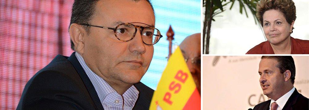 """A visita que a presidente Dilma Rousseff fará a Pernambuco na segunda-feira 17, para o lançamento do petroleiro Dragão do Mar, será ampliada com a sua ida até o município de Serra Talhada, onde participará da inauguração da primeira etapa da Adutora do Pajeú; ao mesmo tempo, Eduardo Campos (PSB) lançará sua candidatura em Brasília; """"Ela pode ir aonde quiser. Se ela está preocupada [com a candidatura de Campos] é problema dela. É bom que ela queira polarizar com ele"""", disse o secretário-geral do PSB, Carlos Siqueira"""