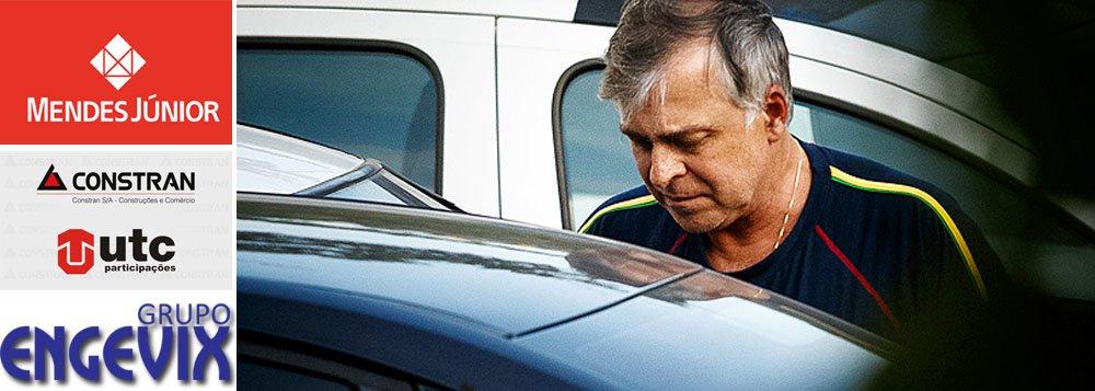 Lista apreendida na casa de ex-diretor da Petrobras Paulo Roberto Costa aponta repasses eleitorais em 2010 de mais de R$ 35,3 milhões da Mendes Júnior, UTC/Constran, Engevix, Iesa, Hope RH e Toyo Setal, em sua maioria para siglas da base governista; PSDB, PPS, DEM e PSB também receberam repasse