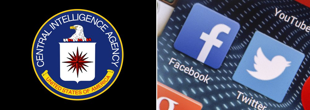 A CIA, que por muito tempo monitorou e espionou as redes sociais para descobrir tendências globais e perseguir malfeitores, abriu oficialmente na sexta-feira contas no Twitter e no Facebook; apágina da CIA no Facebook é www.facebook.com central.intelligence.agency. No Twitter, o endereço é @CIA