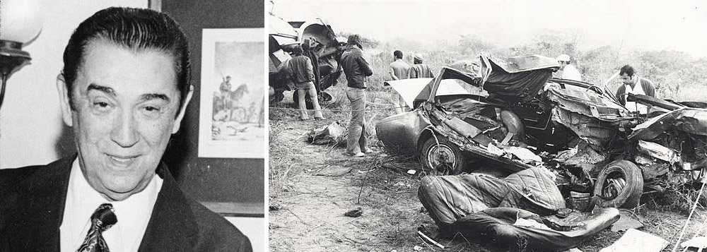 Relatório apresentado nesta terça-feira pela Comissão Nacional da Verdade conclui que o ex-presidente Juscelino Kubitschek e seu motorista, Geraldo Ribeiro, morreram em decorrência de um acidente de trânsito em 1976, e não vítimas de um atentado, como defendeu o colegiado da Câmara Municipal de São Paulo em dezembro passado