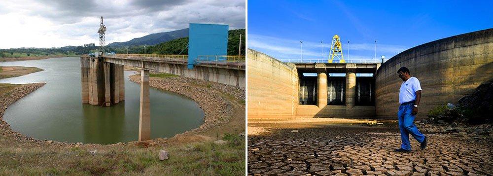 Segundo a Companhia de Saneamento Básico do Estado de São Paulo (Sabesp), o nível de armazenamento subiu 0,2 ponto percentual e chegou a 16% da capacidade do sistema. Os reservatórios apresentam os níveis mais baixos nos 39 anos de operação do sistema