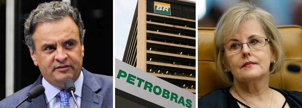 """Em mais um gesto para tentar emplacar uma CPI que investigue a Petrobras, presidenciável tucano anunciou nesta sexta-feira que pretende se encontrar com a ministra Rosa Weber, do STF, para """"rogar"""" por uma liminar que permita a instalação da comissão parlamentar de inquérito; senador, que defende uma investigação exclusiva da estatal, disse agora estar """"pronto para assinar qualquer CPI""""; Aécio Neves convocou ainda a população a se manifestar em favor da investigação: """"façam isso. Se manifestem nas redes sociais e publicamente"""""""
