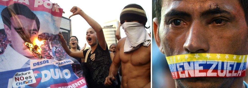 """Segundo o presidente venezuelano, a reunião foi pedida para expor, perante o Conselho Presidencial da Unasul, os ataques e a violência de pequenos grupos que estão prejudicando a sociedade e impondo uma situação política que o país vai superando com consciência; """"Amamos a paz"""", disse Maduro"""