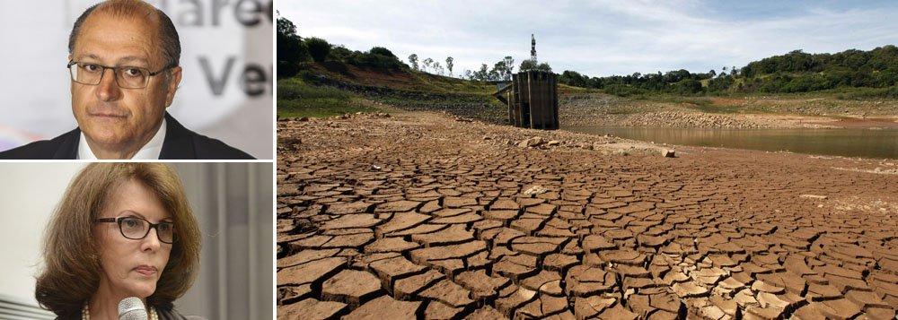 """Presidente da empresa, Dilma Pena disse hoje que projeções apontam segurança no abastecimento de água, sem necessidade de rodízio, até o final do ano, """"considerando o pior cenário de chuvas e a utilização da reserva técnica"""" do Sistema Cantareira; discurso é diferente de relatório da Sabesp divulgado nessa semana, que aponta necessidade de """"medidas mais drásticas"""" se cenário permanecer o mesmo; sobre rodízio, governador Geraldo Alckmin voltou a dizer que é preciso """"avaliação cuidadosa"""""""