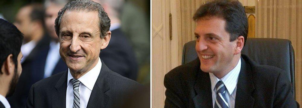 Apontado como nome favorito para suceder Cristina Kirchner na Argentina, opositor argentino chega à capital paulista para almoço com empresários da Federação das Indústrias do Estado de São Paulo com a intenção de relançar o Mercosul