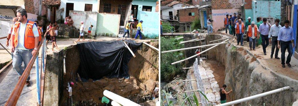 A Defesa Civil de Maceió aponta 575 áreas de risco, sendo que 300 são considerados de alto risco. Possibilidade de deslizamentos é maior de abril a julho, período em que os índices pluviométricos costumam ser elevados
