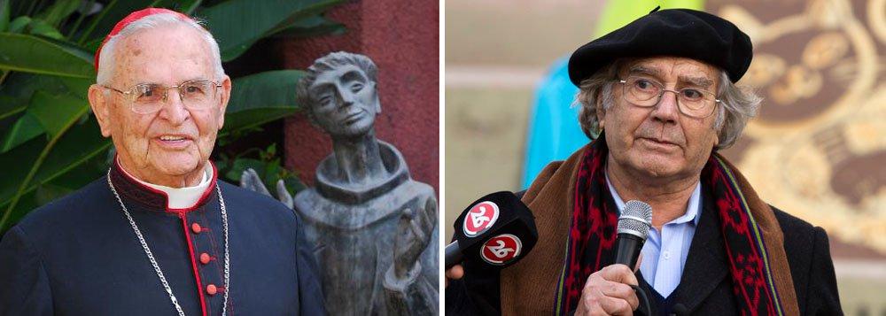 """O ativista de direitos humanos argentino Adolfo Perez Esquivel, de 82 anos, ganhador do Prêmio Nobel da Paz em 1980, disse que foi """"salvo duas vezes"""" por dom Paulo Evaristo Arns durante a ditadura no Brasil"""