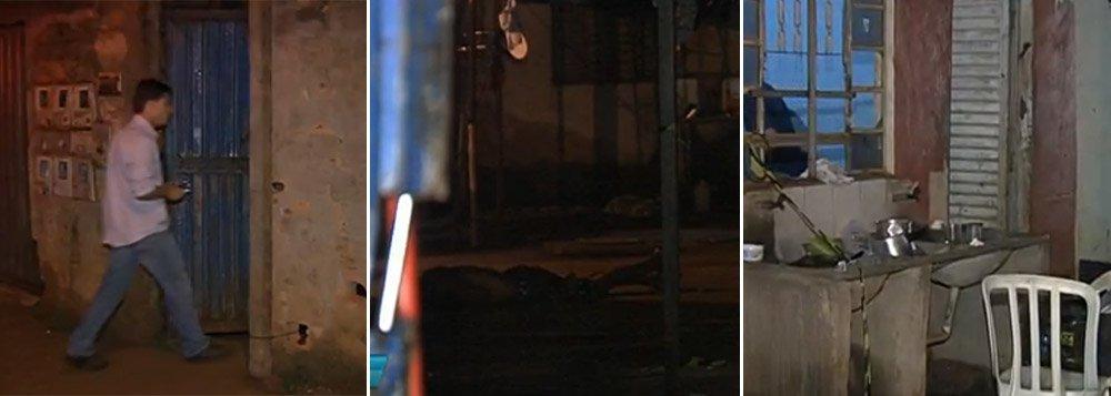 Crime ocorreu em residência no Bairro Cardoso 2; sete homens armados e encapuzados invadiram casa e começaram a atirar em quem estava no local; duas mulheres e quatro homens morreram; Polícia Militar diz que imóvel era ponto de venda de drogas e crime está relacionado ao tráfico de entorpecentes; pessoa ferida foi atendida no Hugo e seu estado é regular