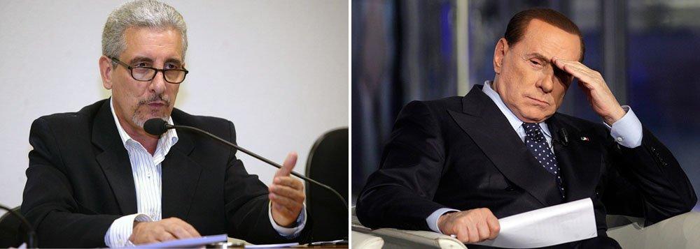Condenado na AP 470, ex-diretor de Marketing do Banco do Brasil Henrique Pizzolato também é investigado por supostos negócios em conjunto com Valter Lavitola sobre empresas de telecomunicações italianas no Brasil; ele é acusado de ter articulado esquemas financeiros envolvendo o ex-premiê italiano Silvio Berlusconi