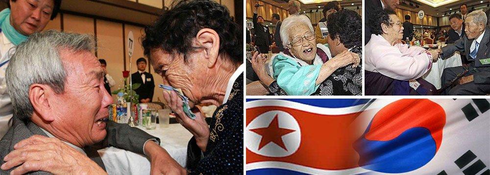 """""""A questão das famílias separadas pela guerra é um dos temas mais urgentes agora. Vou fazer todo o possível para aliviar a sua dor por meio do diálogo"""", disse Lee Duck-hang, líder da equipe de mediação da Coreia do Sul"""