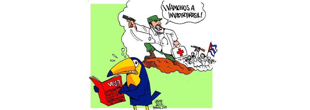 Espiões comunistas estão prestes a invadir o Brasil; ao menos, para quem acredita na revista Veja