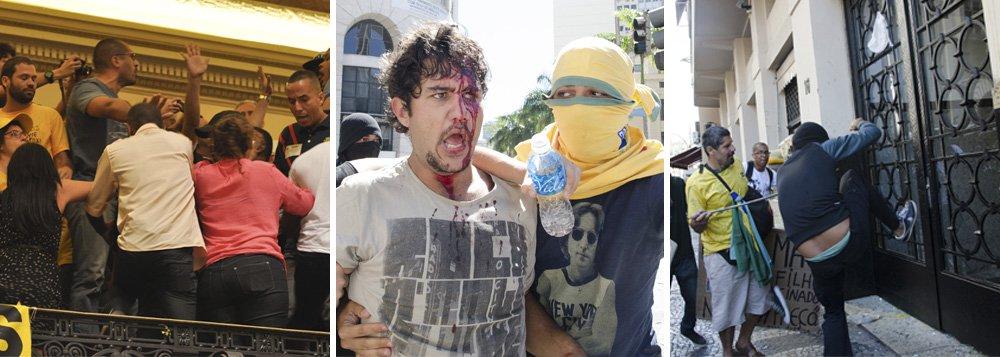 """Decisão vale por 48 horas; grupo de oito vereadores da oposição, com o PSoL à frente, entrou com um mandado de segurança na Justiça na quarta-feira, pedindo a revisão da proporcionalidade da CPI dos Ônibus; """"tenho por suspender o prosseguimento dos trabalhos"""" de decidiu hoje a juíza Roseli Naim; Poder Judiciário interferiu diretamente em assuntos do Poder Legislativo; autonomia ferida após ocupação, acampamento, brigas e confusão?"""
