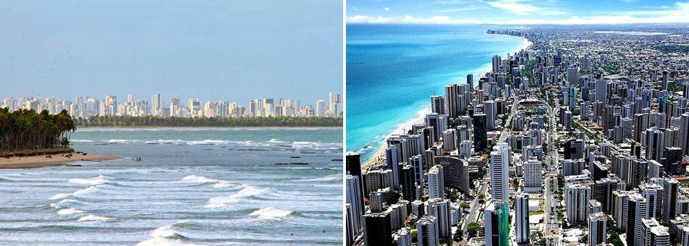 O preço do metro quadrado do imóvel no Recife aumentou 13,4% em 2013, de acordo com o índice FipeZap; embora a alta registrada tenha sido 4,4 pontos percentuais menor do que em 2012 (17,8%), o valor do metro quadrado na capital pernambucana continua sendo o quinto mais caro do País entre as 16 cidades pesquisadas, cravando R$ 5.804