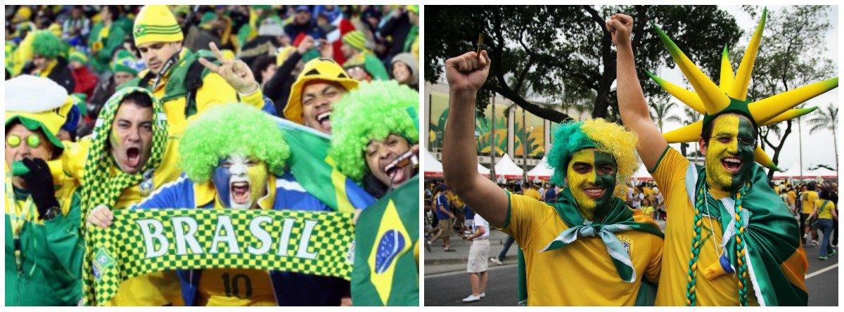"""Pesquisa feita em maio revela que a maior parte dos moradores do Rio (45,4%) apoia o Mundial, enquanto 39,2% são contra e 15,4%, indiferentes; levantamento diz ainda que 88% não vão aos protestos e 67% acreditam que a população deve """"torcer para a seleção"""", """"receber bem os turistas"""" ou """"fazer do Mundial uma festa""""; mesmo entre os que se dizem contra a Copa do Mundo, que começa em 11 dias, 74% pretendem assistir aos jogos; mostra foi feita com 832 cariocas"""