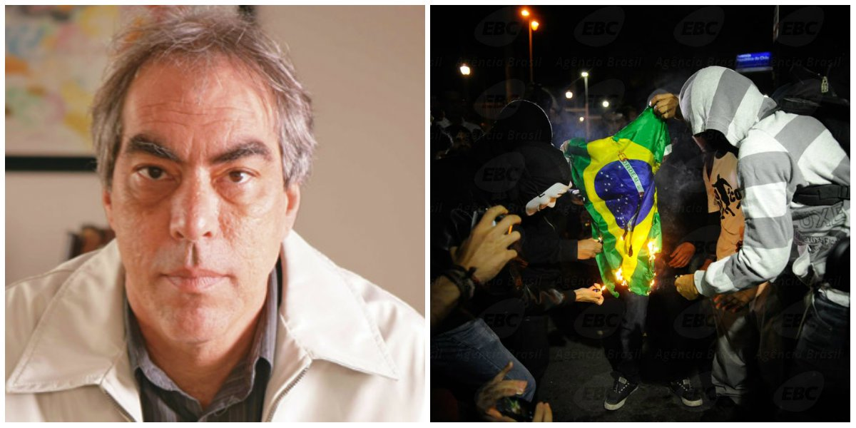"""""""O direito de manifestação pública é limitado por regras que impedem a anulação do direito de circulação das pessoas"""", escreve o colunista; ele ironiza a fala da presidente Dilma, que usou a palavra """"baderna"""" para defender a """"imagem do Brasil"""" durante a Copa, mas """"não os desprezíveis direitos das pessoas""""; """"Depois, tudo volta ao 'normal'"""", diz o sociólogo"""