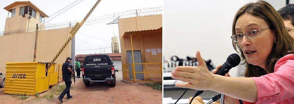 Maria do Rosário reúne Conselho de Defesa de Direitos da Pessoa Humana, da Secretaria de Direitos Humanos (SDH), para discutir a crise carcerária no Complexo Penitenciário de São Luís e as violações de direitos humanos cometidas contra presos