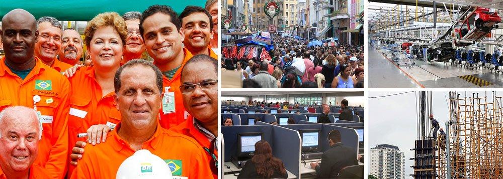 Taxa registrada em novembro é a menor da série histórica do IBGE, iniciada em 2002; índice, que ficou abaixo dos 5,2% registrados em outubro, havia sido alcançado em dezembro de 2012; regime de pleno emprego é uma das bandeiras de reeleição da presidente Dilma Rousseff; ano pré-eleitoral da petista também tem melhor desempenho do que o de seus dois antecessores, Lula e FHC, neste quesito