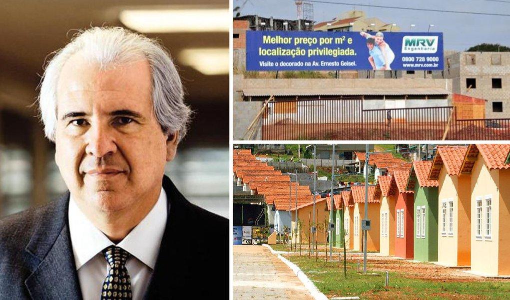 O empresário Rubens Menin, da construtora MRV, decidiu doar materiais para a reconstrução das cidades atingidas pelas enchentes no Espírito Santo; acordo foi fechado com o governador Renato Casagrande