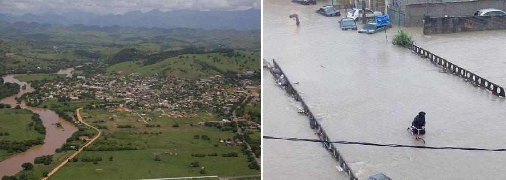 Os municípios de São João de Meriti, na Baixada Fluminense, e Bom Jesus do Itabapoana, no noroeste do estado, estão em alerta máximo devido ao aumento do nível de rios que cortam essas cidades; que já atingiram80% do nível de transbordamento