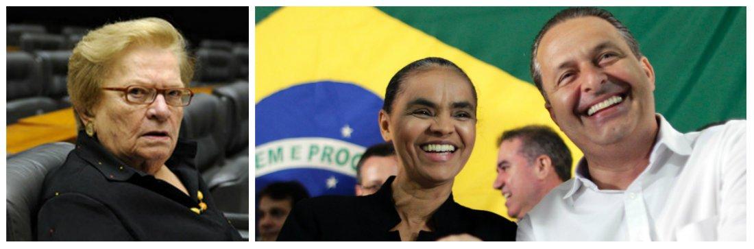 """Aposta de Marina Silva para disputar o governo de São Paulo e, assim, afastar o PSB de Eduardo Campos do tucano Geraldo Alckmin, deputada federal evita entrar na polêmica mas não descarta candidatura: """"Não podemos colocar as coisas nesses termos, para não quebrar a unidade PSB-Rede""""; sem citar diretamente a responsabilidade de Campos na falta de sentido político nos acordos regionais, ela culpa a """"lógica eleitoral que se superpõe a tudo"""""""