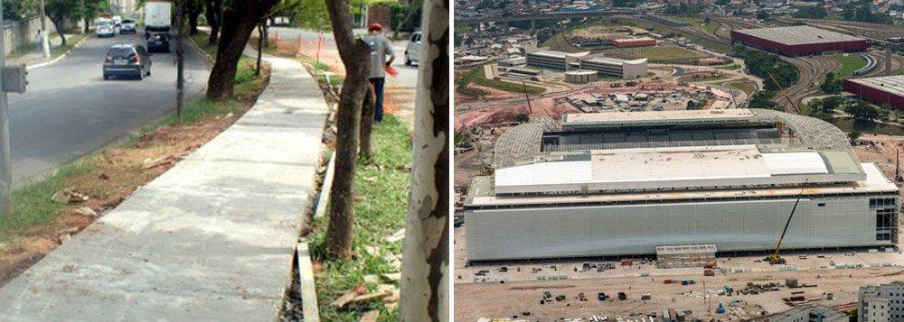 Verba é arrecadada junto a empreiteiras e deveria ser aplicada em urbanização, mas maior parte dos recursos são usados em avenidas e desapropriações no entorno do Itaquerão