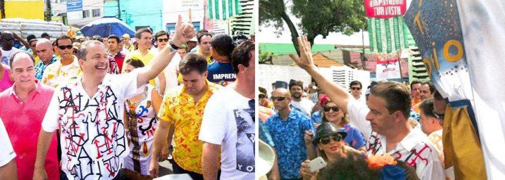 O presidenciável socialista participava da concentração do Galo da Madrugada, no Recife; logo que saíram do Forte das Cinco Pontas, Campos e companhia foram abordados por ativistas da Troça Carnavalesca Mista Público-Privada Empatando Tua Vista, que protestaram contra a verticalização do Recife;Eduardo Campos estava acompanhado do prefeito do Recife, Geraldo Julio (PSB), e dos candidatos da chapa governista em Pernambuco: Paulo Câmara (PSB), que vai disputar o governo, Raul Henry (PMDB), vice na chapa de Câmara, e Fernando Bezerra (PSB), candidato ao Senado