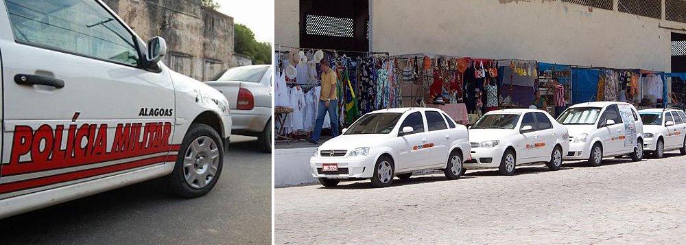 Um ano apenas o anúncio por parte da Secretaria de Estado de Defesa Social para combater os assaltos a taxistas, apenas 20% dos mais de 3 mil táxis em Maceió instalaram o GPS