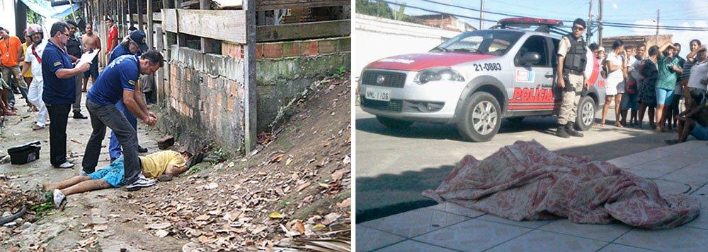 Dados da própria Secretaria de Estado da Defesa Social indicam 1.015 assassinatos até maio deste ano contra 951 crimes no ano passado em Alagoas; Só em Maceió foram registrados 364 assassinatos; relatório revela bairros e municípios mais violentos