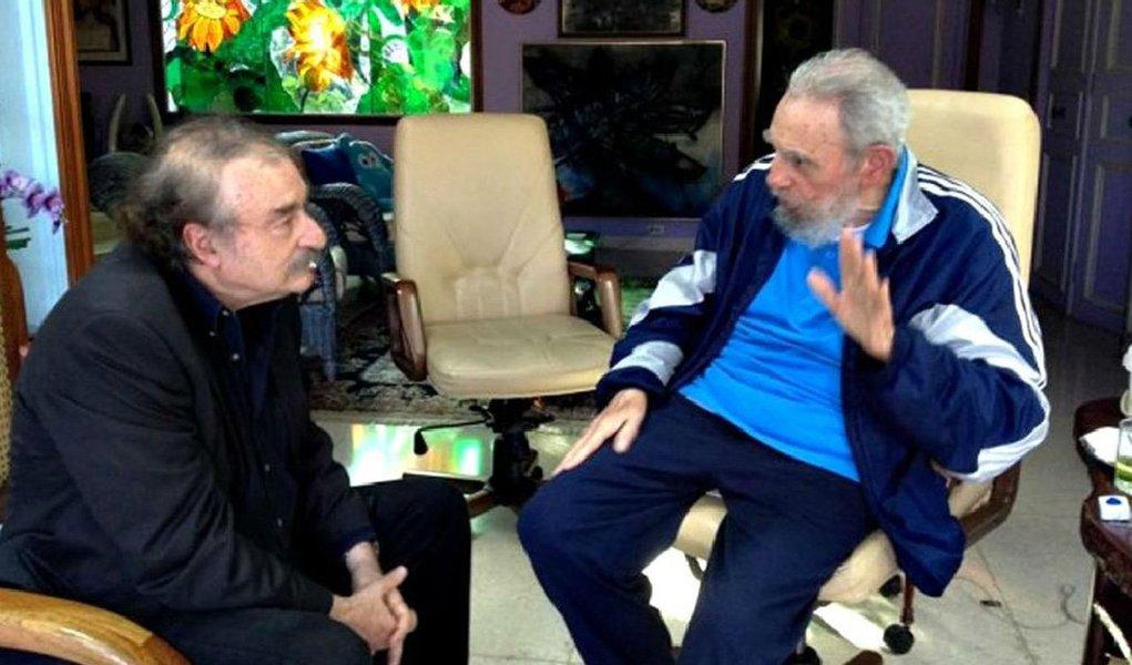 Ignacio Ramonet, jornalista premiado na Europa e na América, autor de livros sobre Hugo Chávez e Fidel Castro, relata, em texto publicado na Carta Maior, encontro com o líder cubano, em dezembro do ano passado, que durou mais de duas horas; na conversa, falaram sobre Chávez, a morte de Nelson Mandela e a crise no Irã