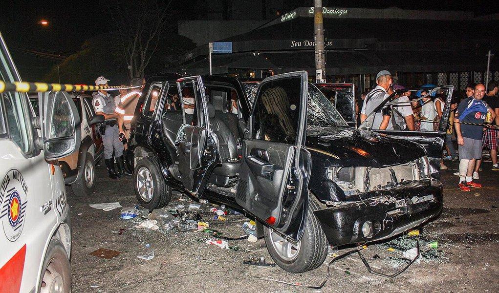 De acordo com a Secretaria Municipal de Saúde, as vítimas tiveram ferimentos leves e foram atendidas no Pronto Socorro do Hospital Municipal da Lapa e do Hospital Edmundo Vasconcelos; cinco feridos foram liberados e dois, um homem de 28 anos e uma mulher de 31 anos, foram transferidos para o Hospital das Clínicas