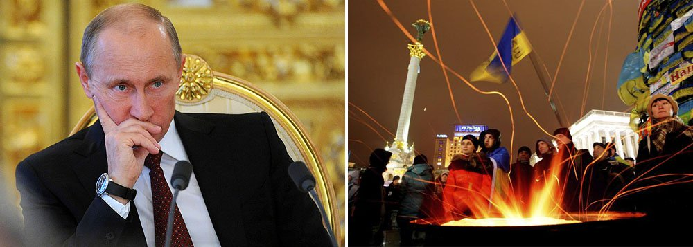 """No último domingo, a Ucrânia desencadeou uma """"operação antiterrorista"""" contra rebeldes armados pró-russos; o país de Vladimir Putin denunciou de imediato """"a ordem criminosa de Turchinov de recorrer ao Exército para reprimir os protestos"""", e advertiu as autoridades ucranianas pró-europeias para que abandonem """"a guerra contra o próprio povo"""""""