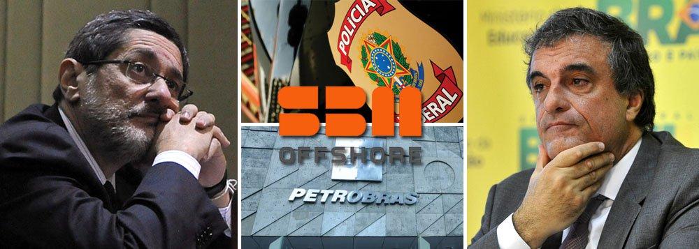 Subordinada ao ministro José Eduardo Cardozo, da Justiça, a Polícia Federal abriu dois inquéritos sobre a Petrobras: um relacionado a denúncia de suborno de US$ 139 milhões a funcionários da estatal entre 2006 e 2011, quando a empresa alugou plataformas do grupo holandês SBM Offshore; outro diz respeito à compra da refinaria de Pasadena, no Texas, por US$ 1,8 bilhão; os dois casos ocorreram na gestão de José Sergio Gabrielli à frente da estatal e mostram que o comando atual, de Graça Foster, não parece intimidado com a ofensiva do Congresso sobre a companhia; com a PF, governo toma a dianteira das investigações