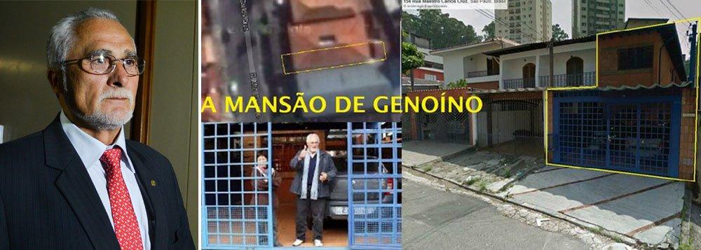 """No artigo """"Preto, pobre, prostituta e petista"""", Eduardo Guimarães, do Blog da Cidadania, expressa sua indignação com a prisão de uma das principais lideranças da esquerda brasileira, José Genoino, que deve acontecer nas próximas horas; """"isso está acontecendo em um país em que um político como Paulo Maluf, cujas provas de corrupção se avolumam há décadas, jamais foi condenado à prisão"""", diz ele, que ilustra seu texto com uma imagem da """"mansão de Genoino"""""""
