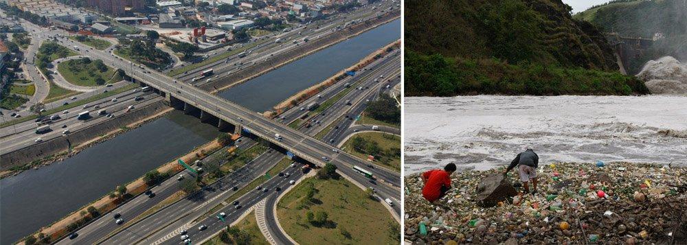 Para geólogo, sem articulação metropolitana e universalização do saneamento básico, principal rio do estado de São Paulo seguirá sujo; após dinheiro do Japão, França vira aposta do governador Geraldo Alckmin para resolver problema