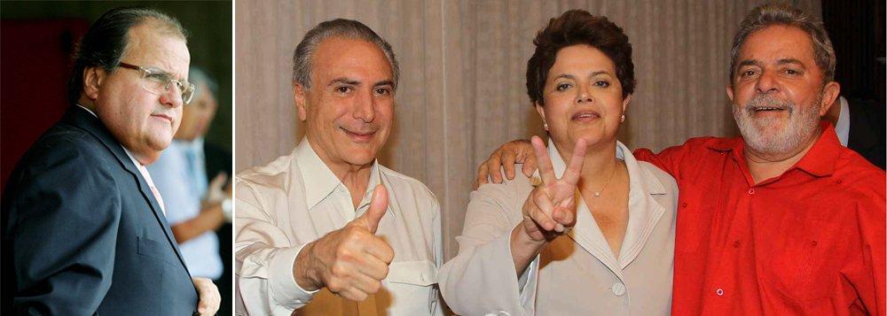 """Secretário nacional do PMDB, Geddel Vieira Lima afirma que rompimento deve acontecer """"de imediato""""; ele considera os problemas atuais como consequência de erros cometidos em 2010 e diz que nem o ex-presidente Lula conseguiria acalmar os ânimos; """"Até para uma figura encantadora como Lula é difícil reverter esse processo""""; peemedebista avalia também que a presidente Dilma Rousseff pode complicar mais a situação; """"Se ela for tentar resolver sozinha, vai quebrar louça para tudo quanto é lado"""""""