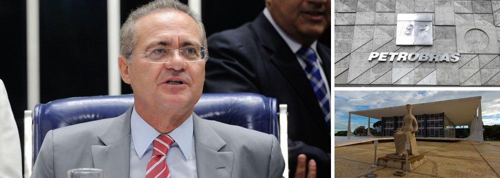 """""""O Supremo decidiu no ano passado que não pode interferir no processo legislativo. Pelo menos, não com essa pressa de conceder liminar e interferir no Congresso. Temos que garantir o direito à minoria, mas essa é uma questão interna corporis do Legislativo"""", sustentou o presidente do Senado; relatora dos mandados de segurança sobre CPIs é a ministra Rosa Weber; segundo Renan Calheiros (PMDB-AL), a instalação de uma CPI ampla, como quer o governo, """"não atropela o direito da oposição""""; """"Está garantido o direito da minoria"""", disse"""