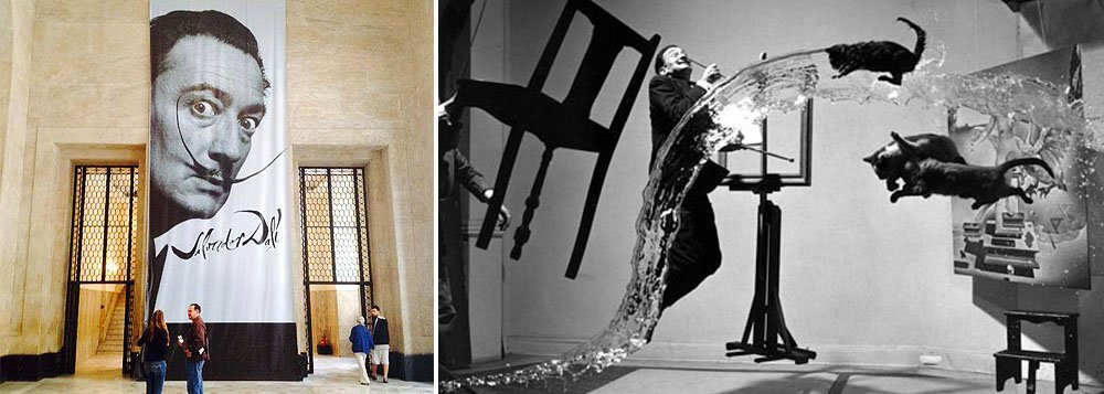 Mostra no Centro Cultural Banco do Brasil (CCBB), no Rio de Janeiro, será aberta nesta sexta ao público com 29 pinturas, 80 desenhos e gravuras, além de documentos e fotografias do artista surrealista catalão, que morreu em 1989, aos 84 anos