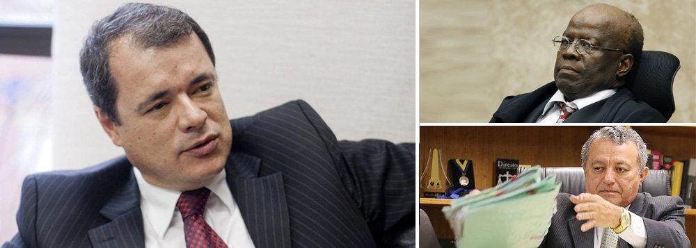 """Substituição de Ademar Silva de Vasconcelos, da Vara de Execução Penal do DF, pelo juiz Bruno Ribeiro, a mando do ministro Joaquim Barbosa, foi """"canetaço"""", segundo o presidente eleito da Associação dos Magistrados do Brasil (AMB), João Ricardo dos Santos Costa; """"Pelo menos na Constituição que eu tenho aqui em casa não diz que o presidente do Supremo pode trocar juiz, em qualquer momento, num canetaço"""", disse; presidente daAssociação Juízes para a Democracia,Kenarik Boujikian fala em """"coronelismo"""" e pede explicações do presidente do STF"""