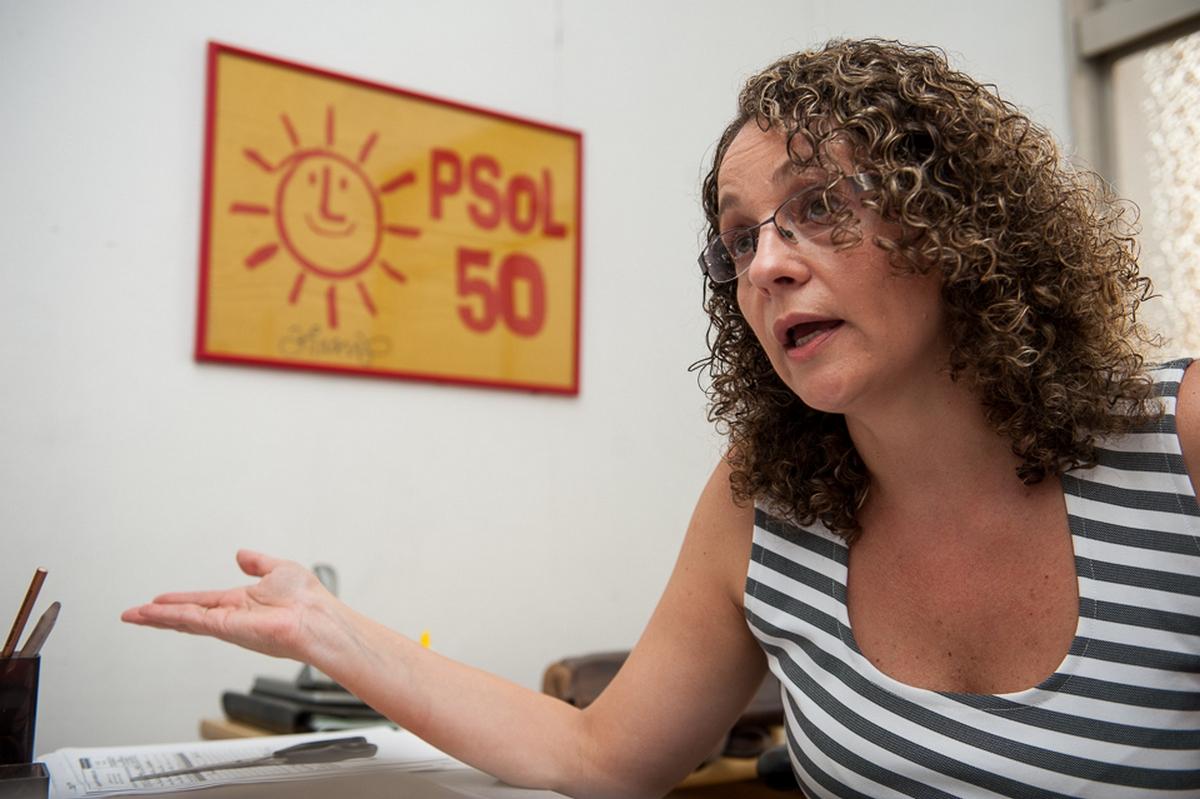 entrevista com Luciana Genro sobre política e eleições 2014. Foto: Vinícius Roratto/Sul21.