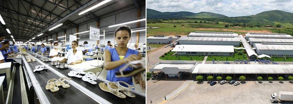 707b52f98 A empresa de calçados Vulcabrás Azaleia confirmou que vai fechar as suas  fábricas instaladas em Carira