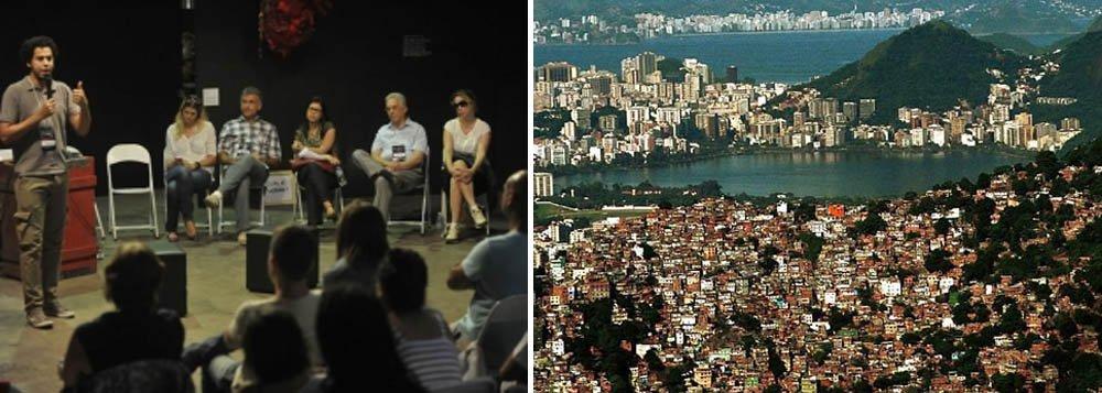Com breves palestras de até 20 minutos sobre temas como desenvolvimento econômico e social, direitos humanos, política sobre drogas, cultura, ativismo digital e tecnologia em favor da cidadania, ocorreu neste sábado o evento TEDxMaré, com o tema Favela É Cidade, no Complexo da Maré, na zona norte do Rio