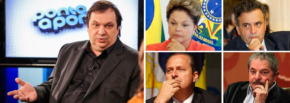 """À frente do instituto Datafolha, o sociólogo Mauro Paulino afirma que as eleições de 2014 serão imprevisíveis e que os candidatos Aécio Neves, do PSDB, e Eduardo Campos, do PSB, ainda têm o desafio de construir um discurso que conquiste o eleitor; a vitória de Dilma, na sua visão, não está assegurada, uma vez que seus índices de ótimo e bom, de 36%, estariam muito perto de uma zona de risco; Paulino também diz que o """"Volta, Lula"""" é um movimento natural, em razão dos números do ex-presidente"""