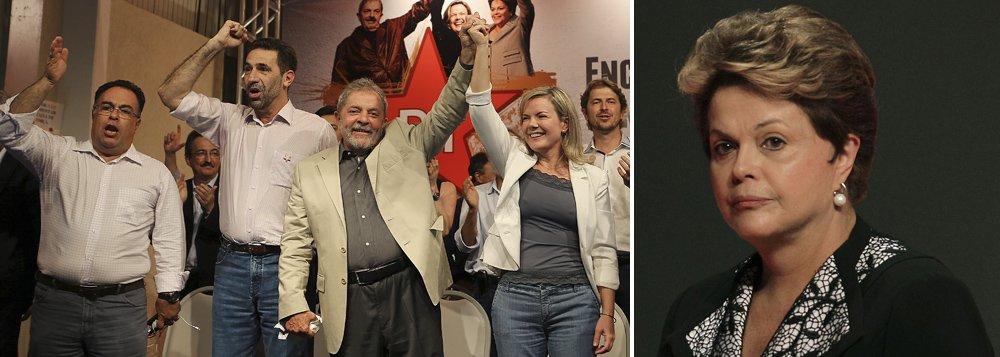 """Ex-presidente fez duras críticas à grande mídia noencontro estadual do PT em São José dos Pinhais, região metropolitana de Curitiba, nesta sexta (14); segundo ele, enquanto durante o governo FHC, """"a imprensa era chapa branca"""", tanto em seu governo quanto na gestão da presidente Dilma Rousseff, existe """"muito preconceito"""";""""Estou boquiaberto como a imprensa trata a Dilma. Pensei que a imprensa fosse tratá-lacom mais respeito pelo cargo que ela ocupa, que fosse ser mais verdadeira. O preconceito contra Dilma é porque ela é mulher, pelo fato de que não estava previsto na cabeça da elite brasileira que uma mulher pudesse ocupar os espaços políticos até ontem ocupado por homens"""", disse; Lula afirmou que é """"obrigação"""" dele reeleger Dilma e """"não permitir que o país entre numa aventura"""""""