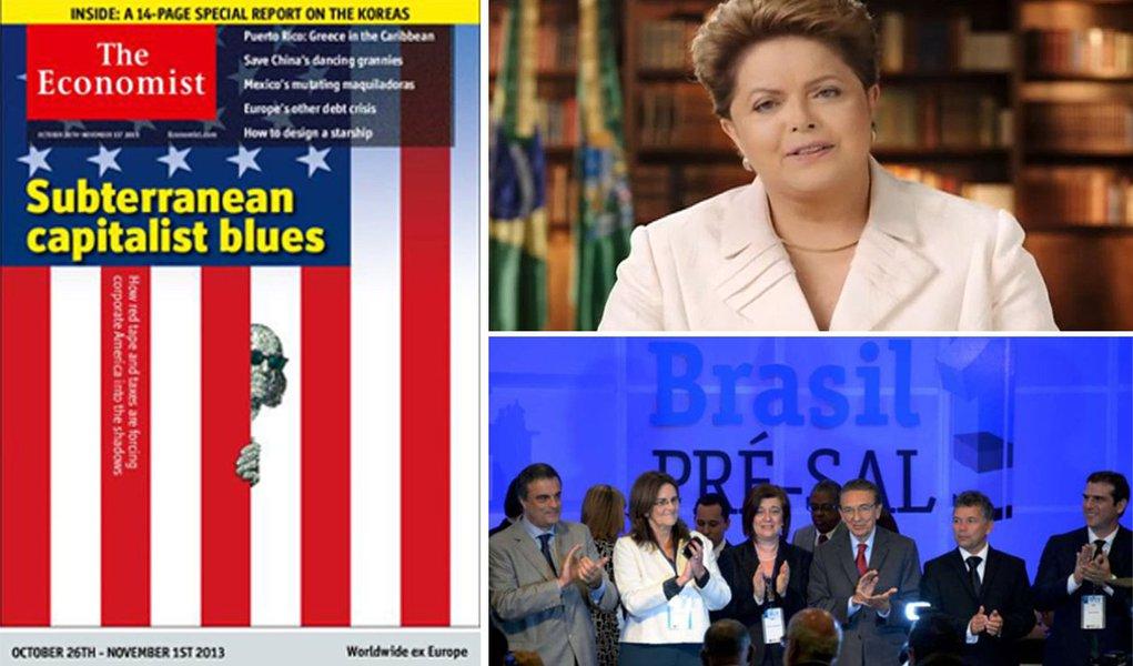 Em suas apostas para a agenda internacional em 2014, Flávio Aguiar, da Carta Maior, prevê que duas vestais do neoliberalismo, a Economist e o Financial Times, continuarão agindo para desacreditar o governo Dilma