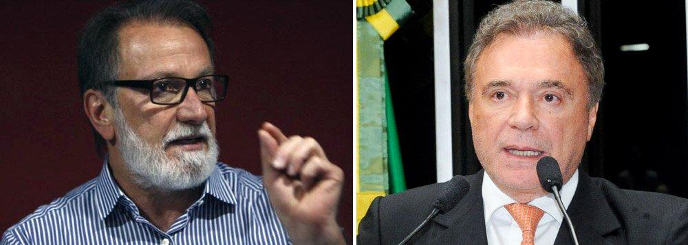 """O presidente licenciado do PDT no Paraná, Osmar Dias, que também é diretor do Banco do Brasil, disse não acreditar na eleição do irmão, Álvaro Dias (PSDB), para mais um mandato no Senado; """"Só um Dias tem condições, que sou eu"""", afirmou"""